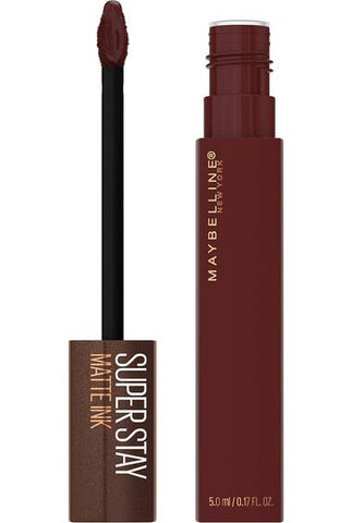 SuperStay Matte Ink Liquid Lipstick, Coffee Edition - 275 Mocha Inventor