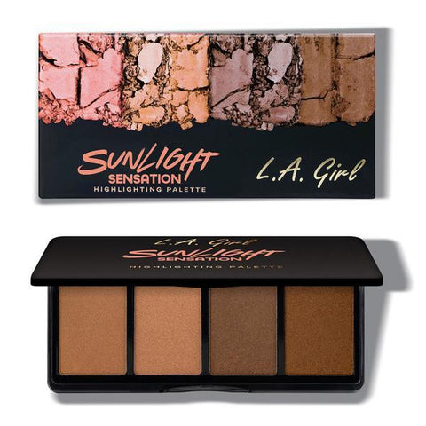 Fanatic Highlighting Palette Sunlight Sensation