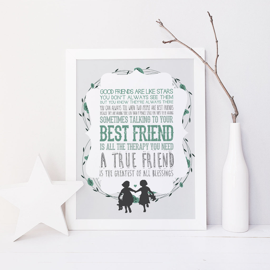 Best Friends (Green)