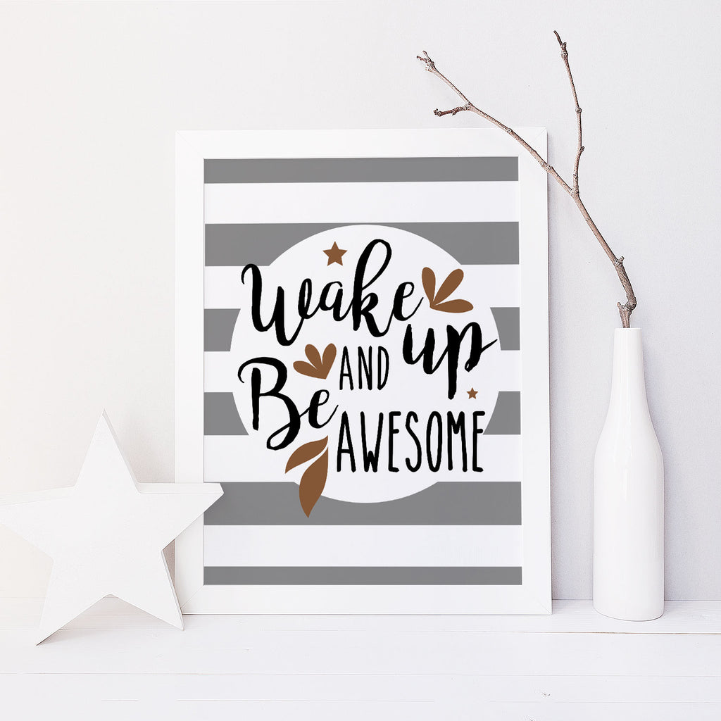 Be Awesome (Grey)