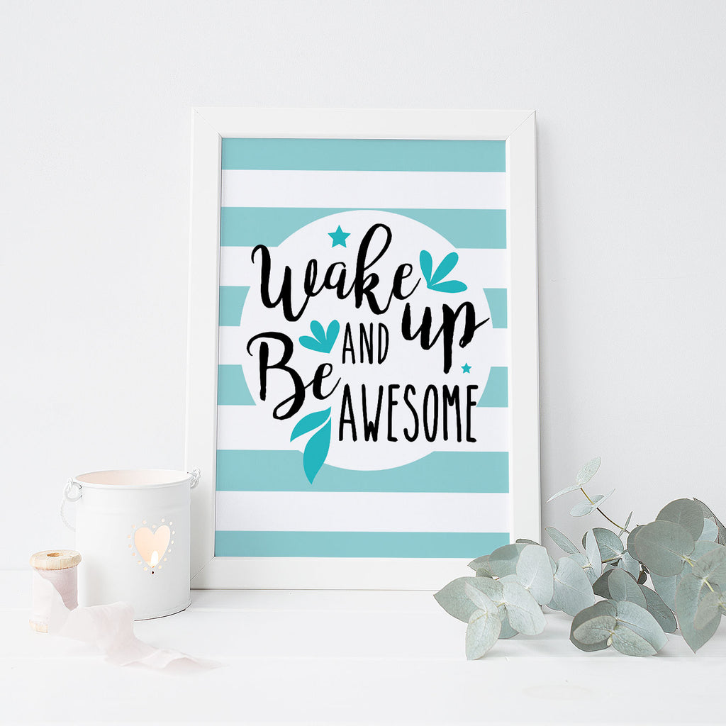 Be Awesome (Aqua)