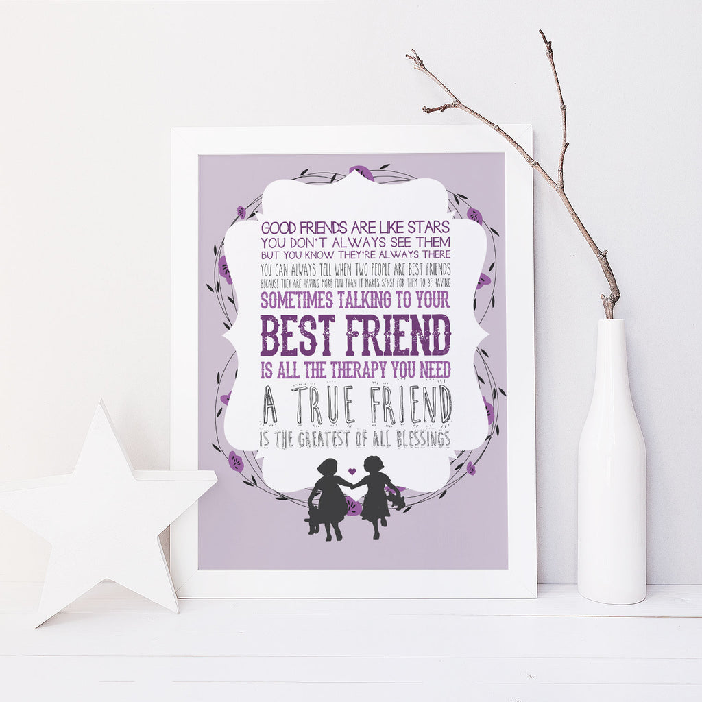 Best Friends (Purple)