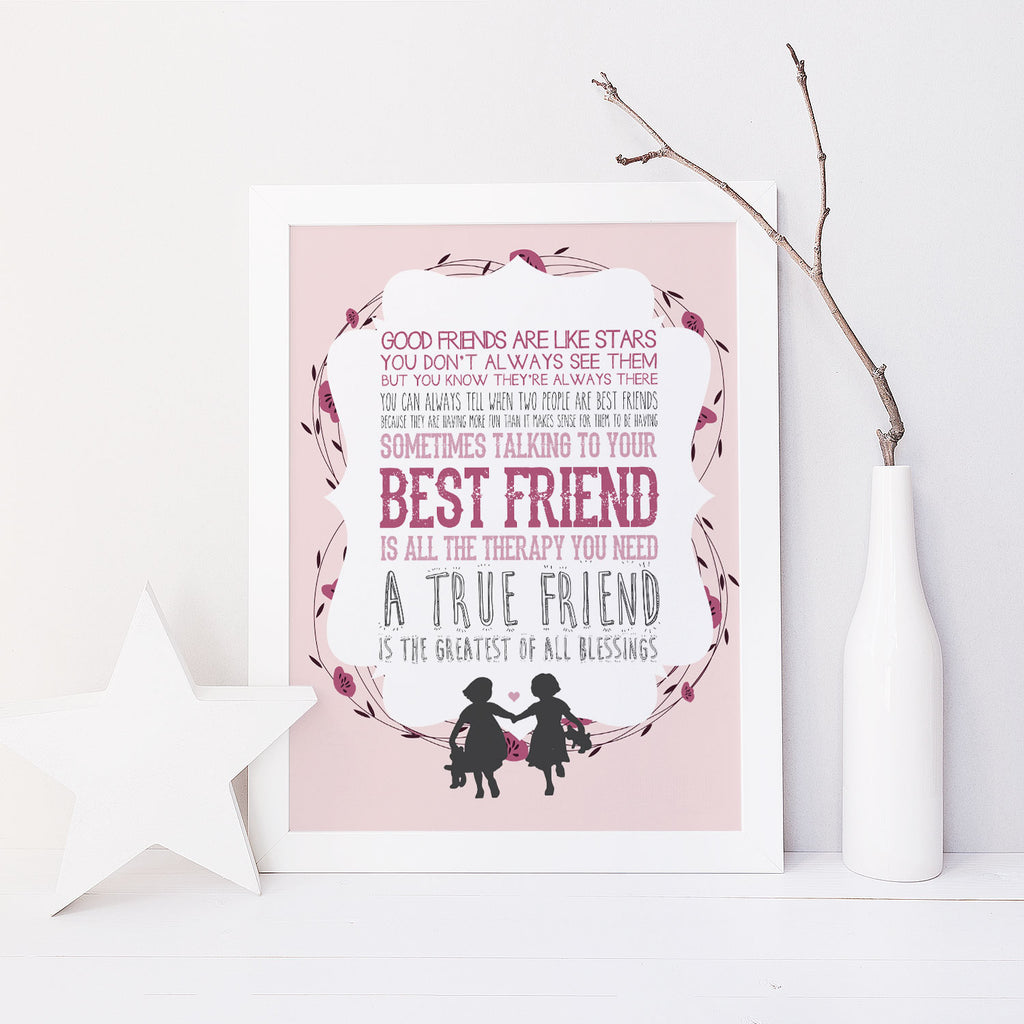 Best Friends (Pink)