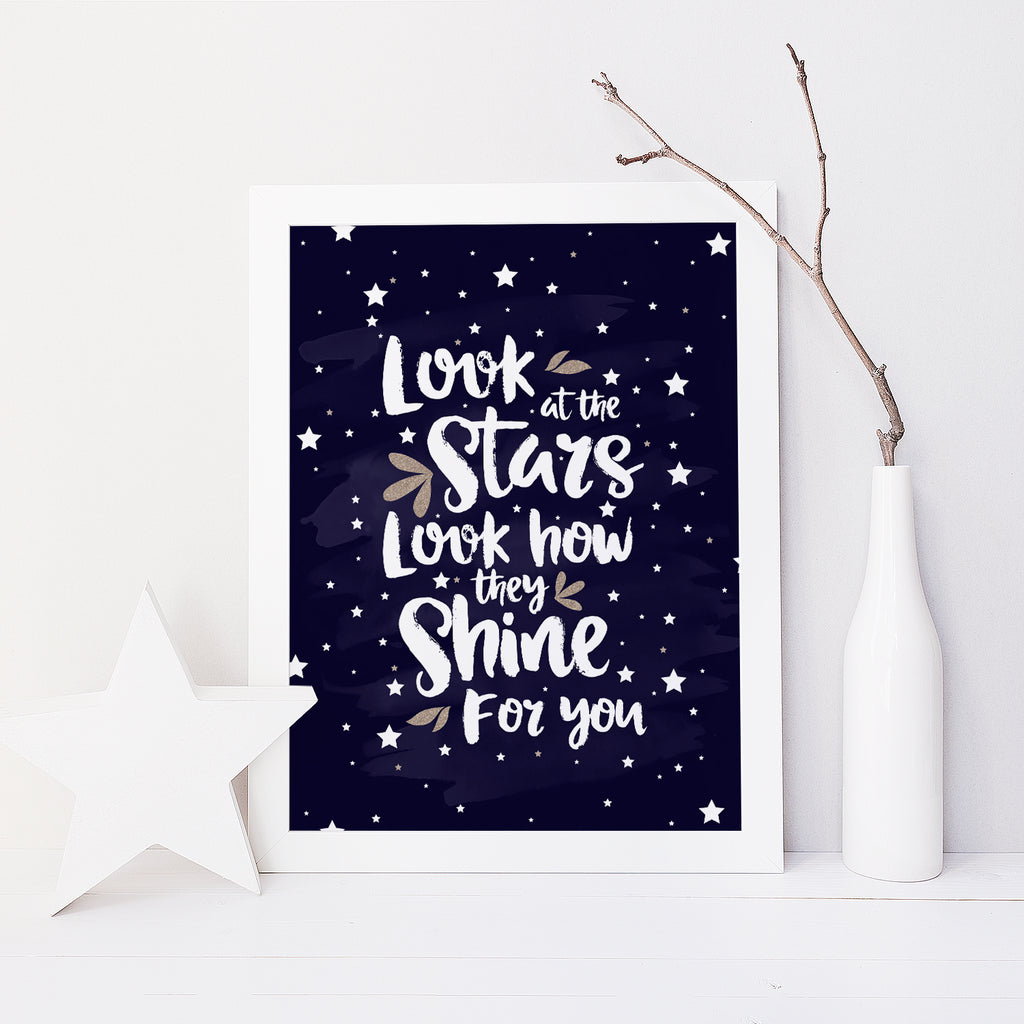 Stars Shine For You (Navy)