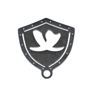 Shield Crest Key Chain