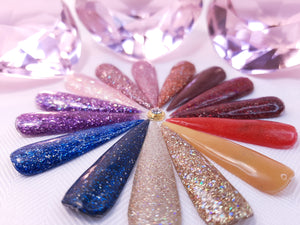 INT ACRYLIC POWDER SPARKLE COLLECTION