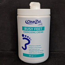 CLEARZAL BUSY FEET ENERGIZING CREME/AVAILABLE IN PROFESSIONAL SIZE