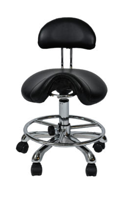 SADDLE CHAIR WITH BACK