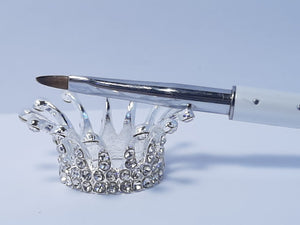 CROWN BRUSH HOLDER