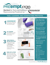 PREempt IMPLEMENT/TOOL DISINFECTANT SOLUTION CS20 NOW AVAILABLE IN 4L