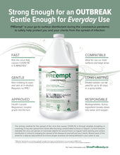 PREempt SURFACE DISINFECTING SOLUTION RTU NOW AVAILABLE IN 4 L