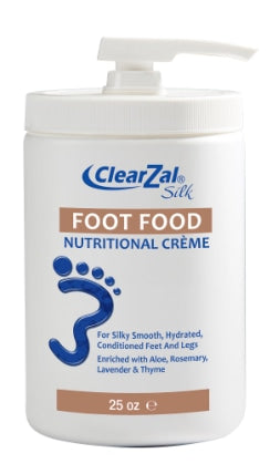 ClearZal Foot Food/Available in Professional Size