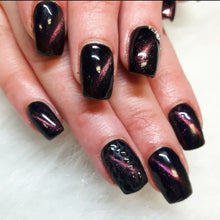 INT GEL POLISH SIAMESE SAPPHIRE - Cat Eye