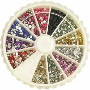 ASSORTED WHEEL RHINESTONES WHEEL