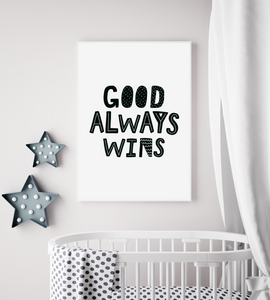 Good Always Wins