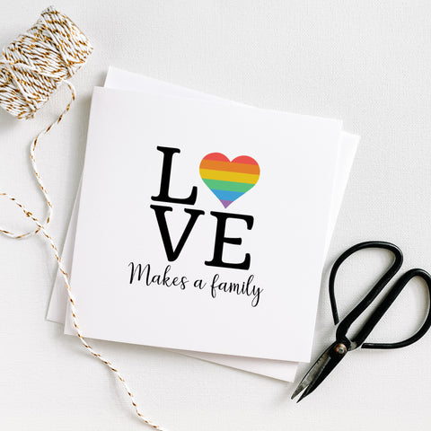 LGBTQ Love Makes a Family