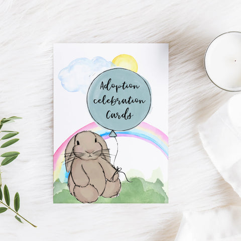 Monthly milestone cards - Animals & Balloons