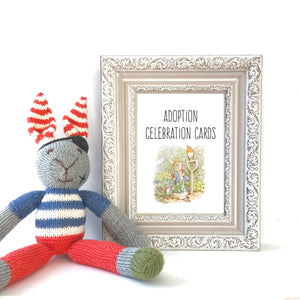 Peter Rabbit Adoption Milestone Cards