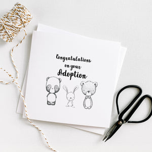 Congratulations on your adoption - Little animals