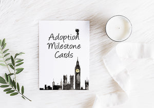 Peter Pan Adoption Milestone Cards