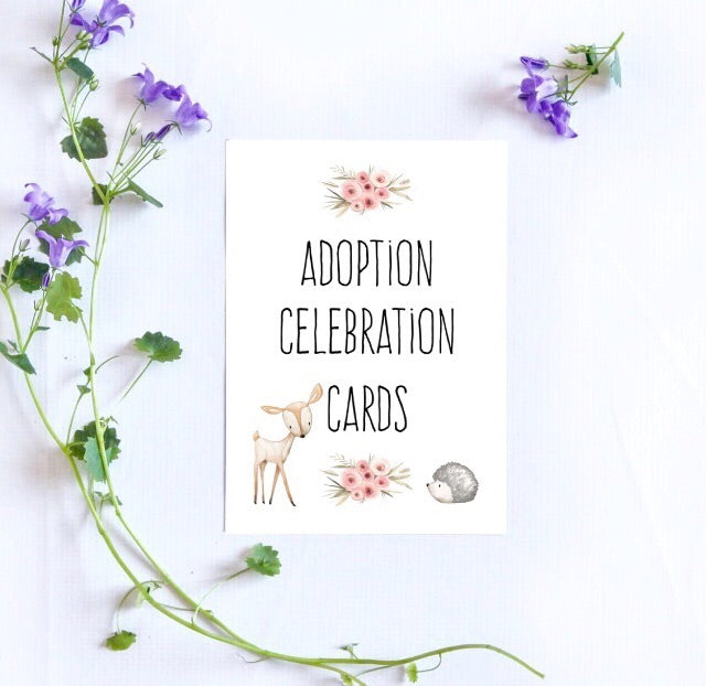 Adoption Milestone Cards