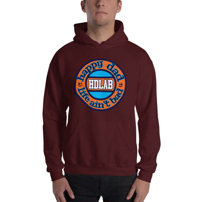 HDLAB Orange Hooded Sweatshirt