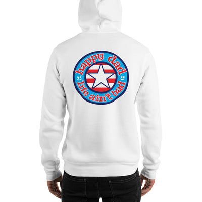 HDLAB Star & Stripes Hooded Sweatshirt (Printed on back only)