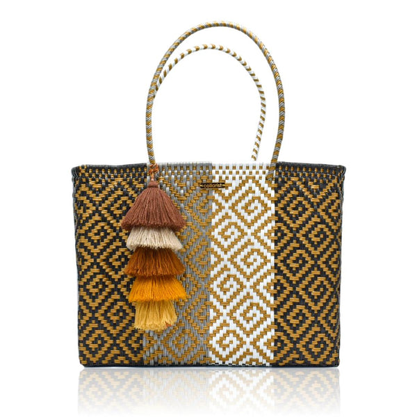 Champagne Toast Handwoven Tote Bag