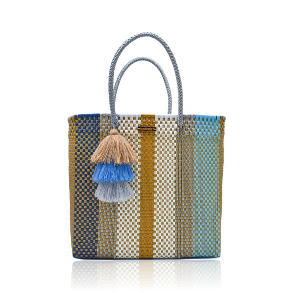 Caramelized Honey Handwoven Tote Bag