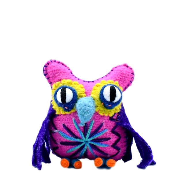 OWL- Woolen Toy