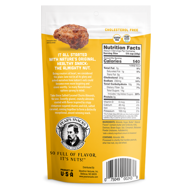 Salted Caramel Churro Inspired Almonds - 6 Pack Wholesale 1