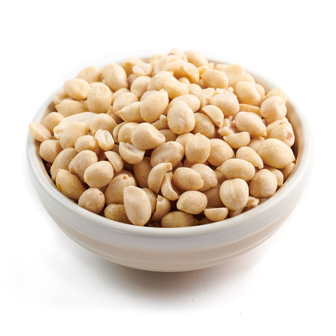 Salted Blanched Peanuts - 16 oz