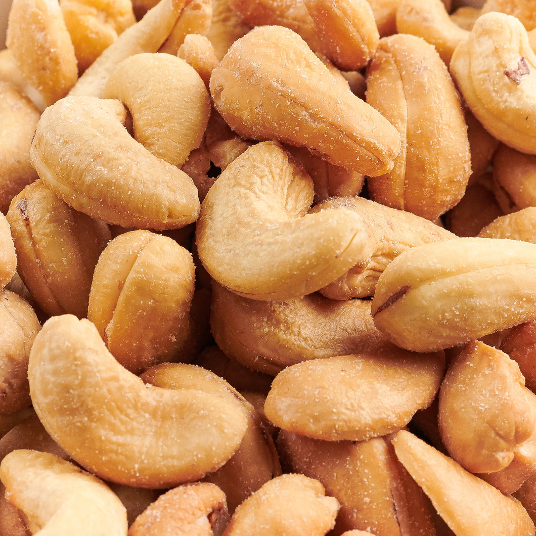 Whole Large Cashews - 50 Pound Bulk Case
