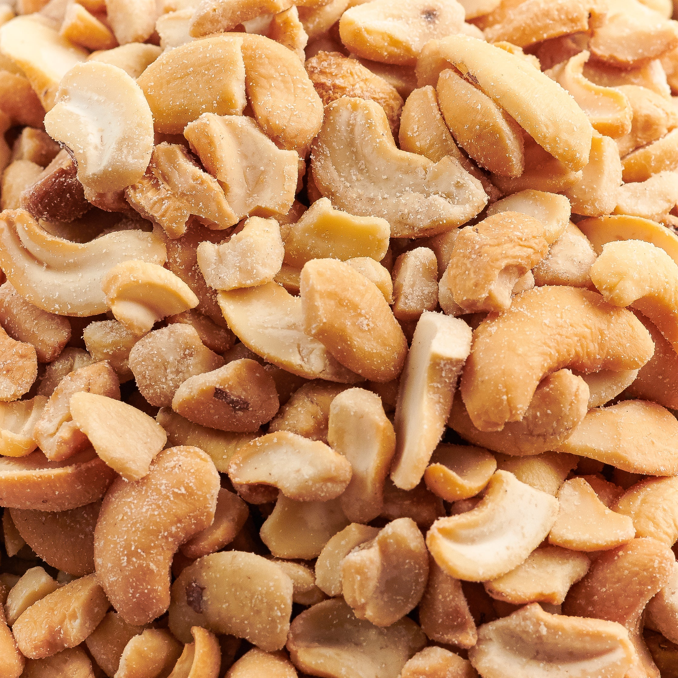 Cashew Pieces - 50 Pound Bulk Case