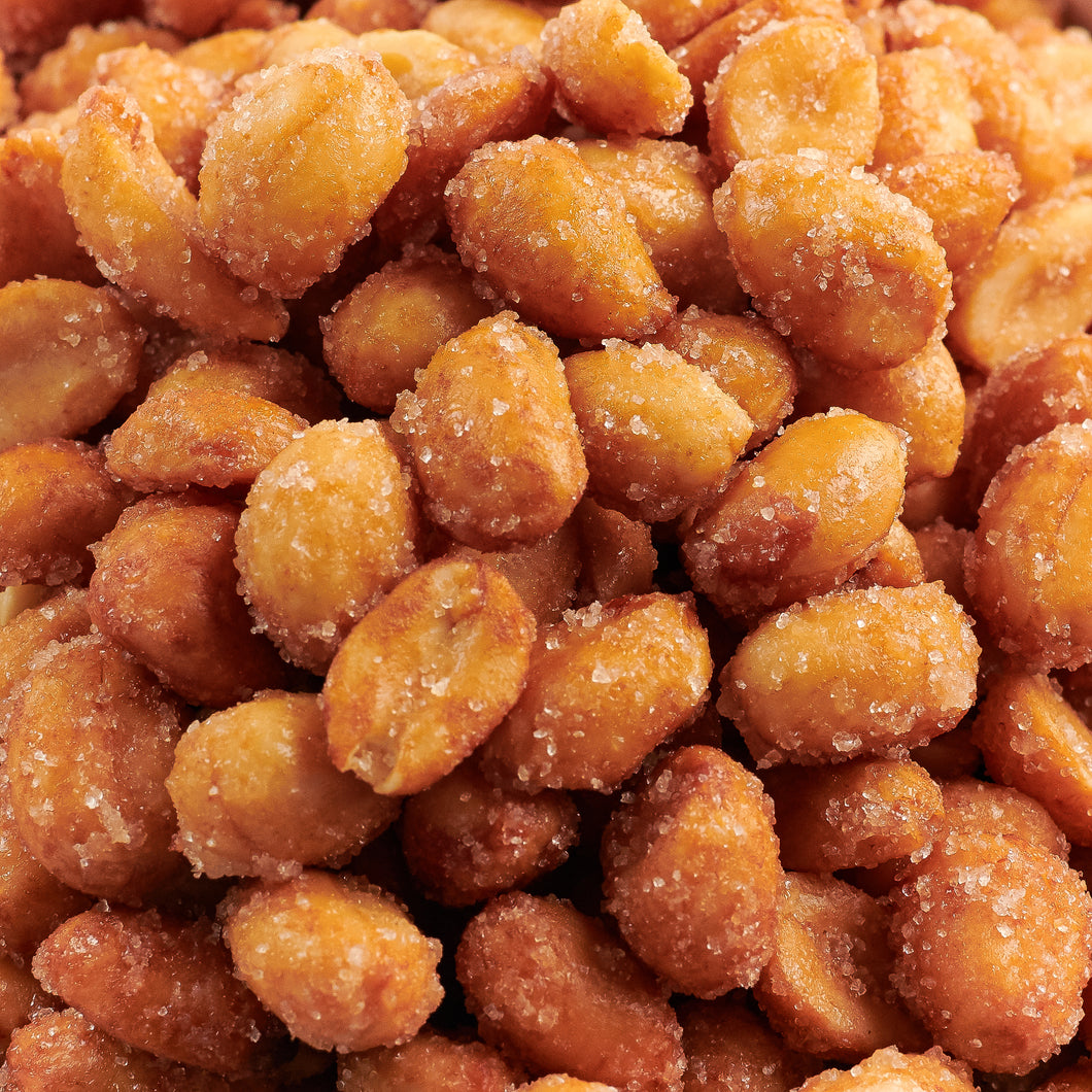 Honey Roasted Peanuts - 25 Pound Bulk Case