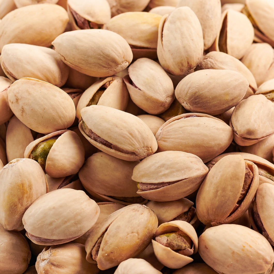 Natural Pistachios - 25 Pound Bulk Case