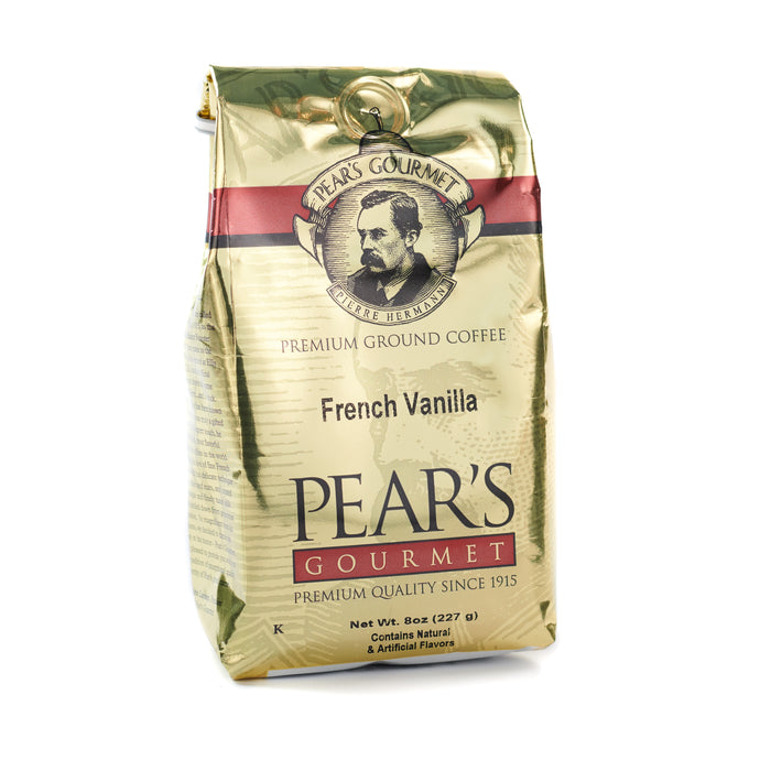 French Vanilla Flavored Ground Coffee - 8 oz