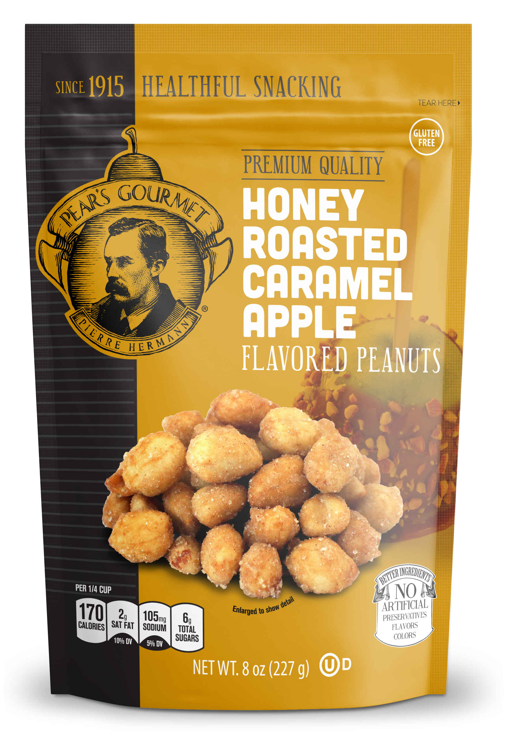 Honey Roasted Caramel Apple Peanuts - 8 oz