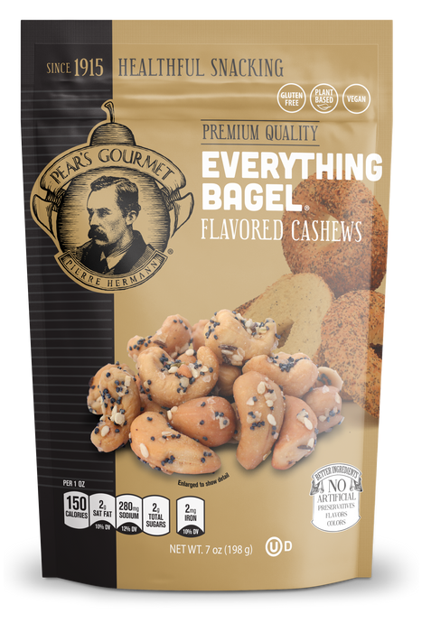 Everything Bagel® Flavored Cashews - 6 pk