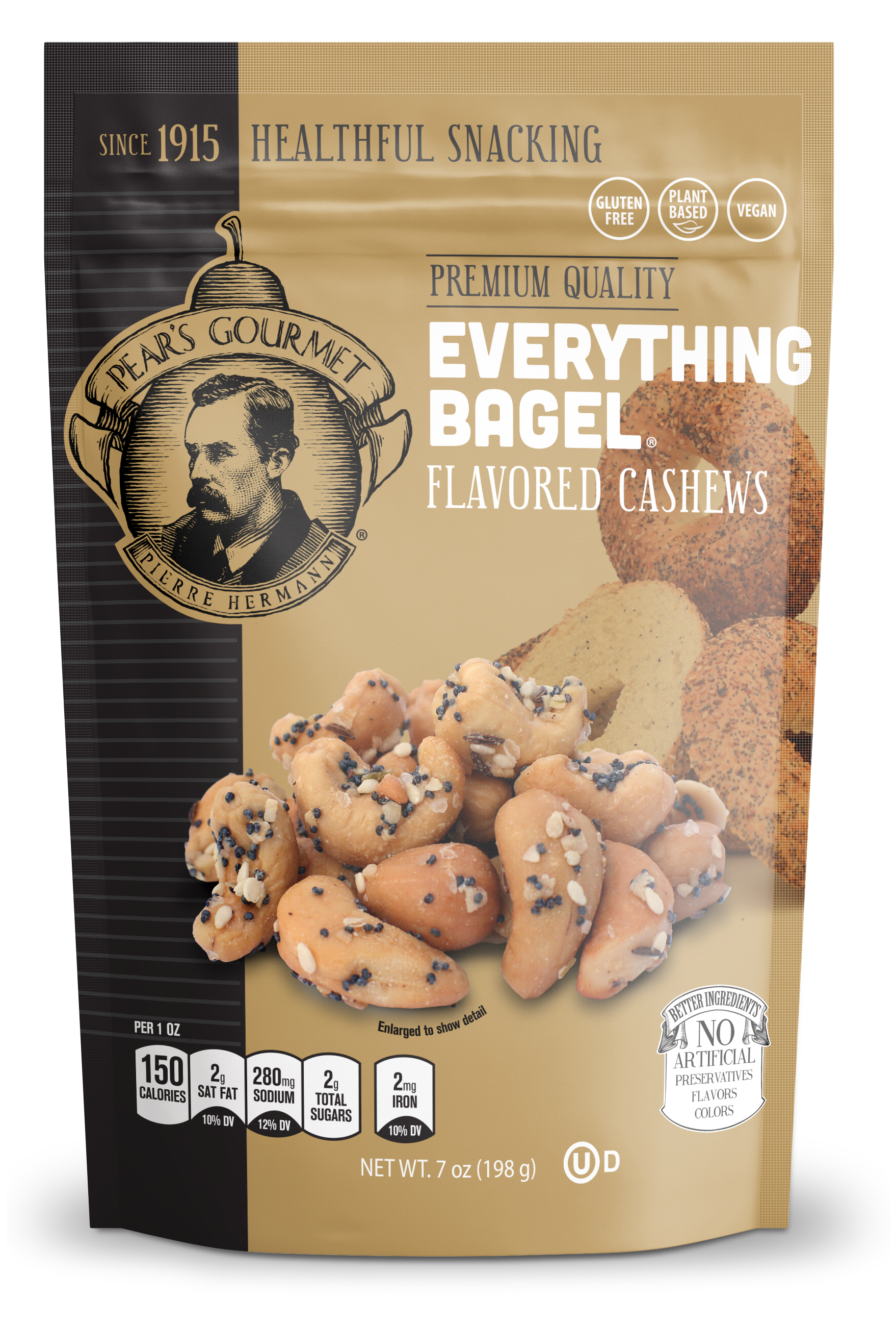 Everything Bagel® Flavored Cashews - 7 oz
