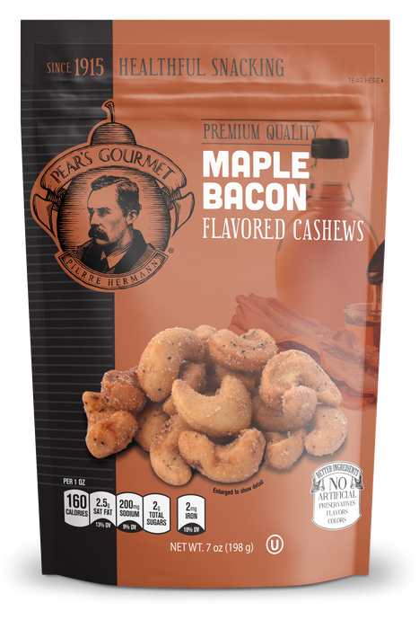 Maple Bacon Flavored Cashews - 7 oz