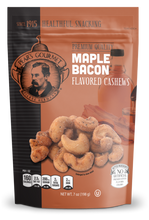 Maple Bacon Flavored Cashews - 6 pk