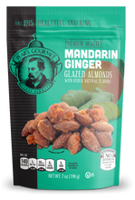 Mandarin Ginger Glazed Almonds - 7 oz
