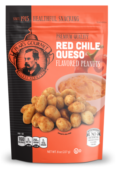 Red Chile Queso Peanuts - 6 pk