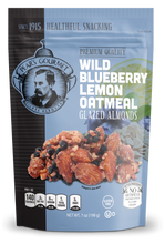 Wild Blueberry Lemon Oatmeal Glazed Almonds - 6 pk