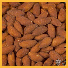 Roasted/Salted Natural Whole Almonds - 25 Pound Case N0122