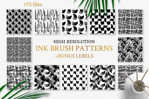 Watercolor Patterns and clipart for your next creation