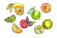 Fruit buffet buffet watercolor png