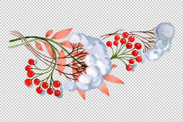Eastern ornament watercolor png