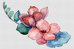 Bouquet Paint watercolor png